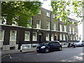 TQ2478 : Houses in Addison Bridge Place by PAUL FARMER