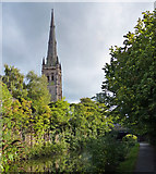 SD4861 : Lancaster Cathedral and canal by Mat Fascione