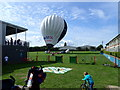 ST5777 : Hot air balloon at the Greenway Centre by Eirian Evans