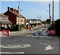 ST8652 : Road Ahead Closed, The Ham near Westbury by Jaggery