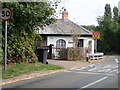 SP0554 : Toll House at Weethley Gate  by Eirian Evans