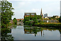 SK5805 : Memory Lane Canal Arm in Leicester by Roger  Kidd