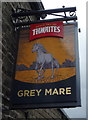SD7324 : Sign for the Grey Mare Inn by JThomas