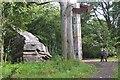 NT1168 : 'Quarry' at Jupiter Artland by Jim Barton