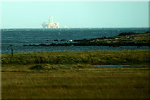 HP6312 : The coast at Haroldswick pool by Mike Pennington