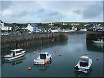 NW9954 : Portpatrick Harbour by Colin Pyle