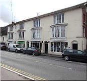 SU1660 : Market Place shops, Pewsey by Jaggery