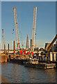 TQ3180 : Blackfriars Bridge Foreshore site, Thames Tideway Tunnel : Week 38