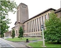 TL4458 : University Library, West Road, Cambridge by David Hallam-Jones