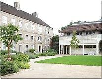 TL4458 : Memorial Court, Clare College, Cambridge by David Hallam-Jones
