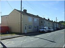 NZ1426 : Houses on Gordon Lane, Ramshaw  by JThomas