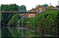 SK5806 : Grand Union Canal/Soar Navigation in Leicester by Roger  Kidd