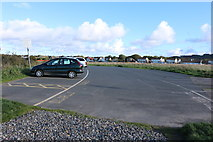 NS3119 : Greenan Shore Car Park by Billy McCrorie