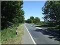 NZ1422 : A688 near Keverstone Grange by JThomas