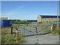 NZ1626 : Gated farm track off Copeland Lane by JThomas