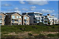 SZ2791 : Clifftop apartments, Milford on Sea by David Martin