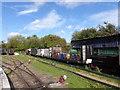 TQ9266 : A scene at Kemsley Down station by Marathon
