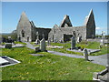 M4000 : Ruined church, Kilmacduagh Monastery by Humphrey Bolton