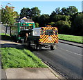 ST3090 : Broken-down bus, Rowan Way, Malpas, Newport by Jaggery