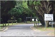 SU8794 : Royal Grammar School, Wycombe, entrance by N Chadwick