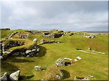 HU3909 : Bronze/Early Iron Age Settlement at Jarlshof by David Dixon