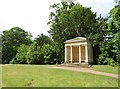 SO8744 : Croome Park: Island Temple by Nigel Cox