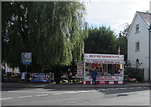 SU1660 : Fast food stall in Pewsey by Jaggery