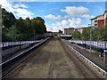 SX9293 : Exeter Central Station, as seen from Bridge on New North Road by Roger Jones
