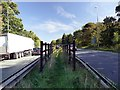 SK5834 : Bridleway crossing the A52 by Graham Hogg