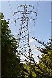 TQ6242 : Pylon, Gimble Grove by N Chadwick