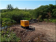NS3977 : The future site of a culvert by Lairich Rig