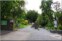 S0524 : Entrance to the Memorial Garden, Cahir, Co. Tipperary by P L Chadwick