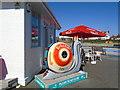 TQ2704 : Snailspace #01 Big Beach Cafe by Paul Gillett