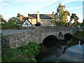 SO4158 : Mill Stream Bridge & Old Grammar School (Eardisland) by Fabian Musto