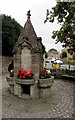 SP1925 : Victorian fountain dated 1896, High Street, Stow-on-the-Wold by Jaggery