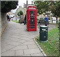 SP1926 : Grade II listed red phonebox, Stow-on-the-Wold by Jaggery