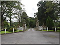 SD7849 : Entrance to Bolton Hall drive by Bill Harrison