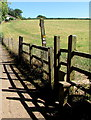 SX9983 : Stile giving access to the East Devon Way, Lympstone by Jaggery