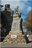 NX6851 : Kirkcudbright War Memorial by Mary and Angus Hogg