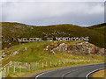 HU3368 : Welcome to Northmavine, Mavis Grind by David Dixon
