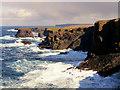 HU2078 : The Spectacular Cliffs at Esha Ness : Week 39