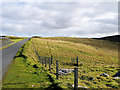 HU4046 : The Old Route of the A971 above Whiteness Voe by David Dixon