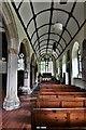 SX0882 : Lanteglos-by-Camelford: St. Julitta's Church, south aisle by Michael Garlick