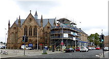 NS5565 : St Mary's Church and hall, Govan by Thomas Nugent