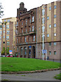NS5565 : Old and new buildings on Govan Road by Thomas Nugent