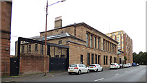 NS5565 : Former Govan Police Building and Govan Municipal Buildings by Thomas Nugent