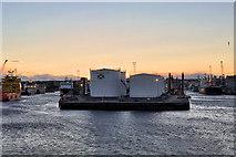 NJ9505 : Point Law Oil Depot, Aberdeen Harbour by David Dixon