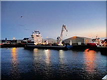 NJ9505 : Aberdeen Harbour by David Dixon