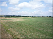 SD6074 : Cut silage field towards the River Lune by JThomas