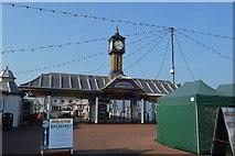 TQ3103 : Clock tower, Palace Pier by N Chadwick